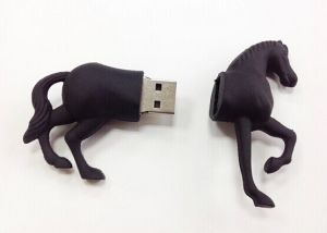 Horse Shaped PVC USB Flash Memory (OM-P156) pictures & photos