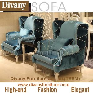 China 2016 New Design High End Home Furniture Bedroom Leisure Sofa China New Style Fabric Sofa