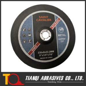 T27-Depressed Center Grinding Disk for Metal 230X6X22.23 pictures & photos