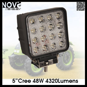 Car Accessory Light Square 48W Headlight LED Work Lights