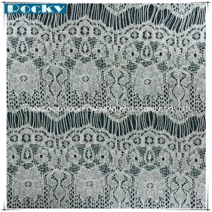 Spandex Fabric Eyelash Soft Lace Wedding Fabric Lace for Chantilly Bridal Garment