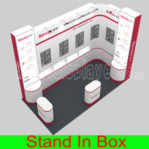DIY Portable Easy-Assembly and Dismantle Modular Green Exhibition Trade Show Advertising Equipment pictures & photos