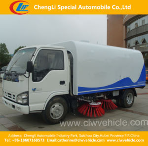 4X2 Isuzu City Sanitation Road&Street Sweeper Suction Truck pictures & photos
