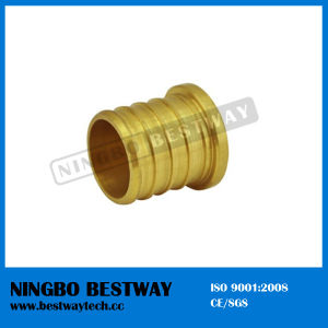 Lead Free Brass Pex Pipes End Barbed Plug Fittings pictures & photos