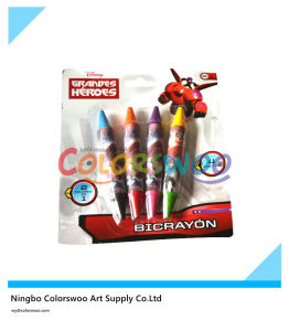 Double Tip Crayons for Students and Kids pictures & photos