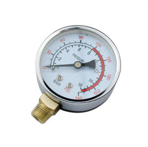 Stainless Steel Case 1/4 NPT Thread 16 Bar Bourdon Pressure Gauge pictures & photos