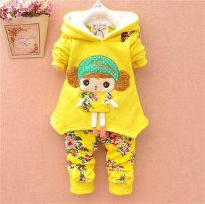 New Baby Suit Thick Two-Piece Outwear Set Kd2323 pictures & photos