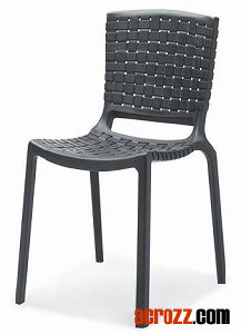 Patio Furniture Stackable Tatami Dining Chair pictures & photos