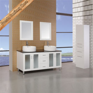 Fed-1877 Modern Solid Wood Bath Vanity Bath Cabinet pictures & photos