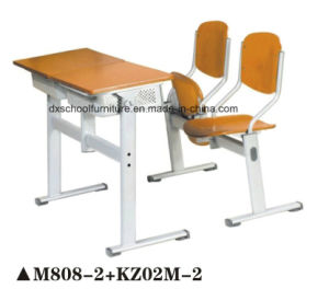 Hot Sale Wooden Furniture School Desk for Children pictures & photos