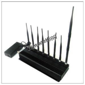 8 Antenna 3G Mobile Phone Jammer + UHF Jammer + WiFi Jammer with Cooling Fan pictures & photos