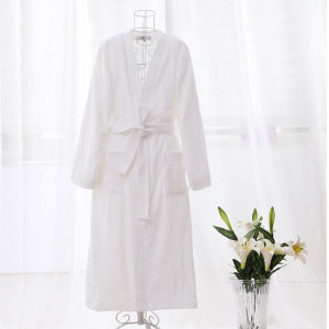 Cheap Promotional Cotton Terry Unisex Hotel/SPA Bathrobe (DPFT8012) pictures & photos
