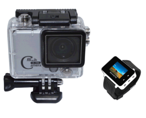 16MP Waterproof WiFi Mini Action Camera with Remote Control