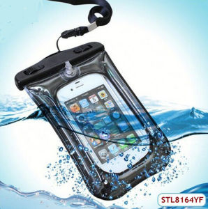High Quality 100% Sealed Waterproof Bag for iPhone with Air Cock