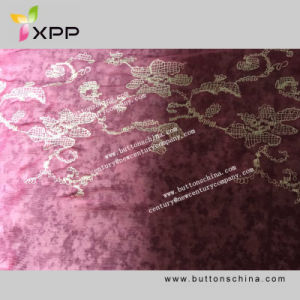 009 New Style Embroidry Webbing Pink Lace for Fashion pictures & photos