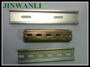 RoHS Complied Galvanic Zinc Plating DIN Rails pictures & photos