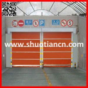 Fast Shutter PVC Interior Automatic Door High Speed Rolling Door (ST-001) pictures & photos