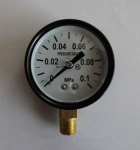 Mini High Quality 30mm MPa Natural Gas Pressure Gauge pictures & photos