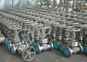 Pn16 Soft Seat Handwheel Gear Casting Flanged Gate Valve pictures & photos