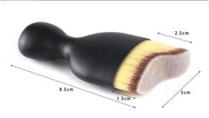 Curved Contouring Makeup Foundation Brush Single Face Foundation Makeup Brush pictures & photos