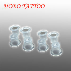 Profession Tattoo Ink Cup (Low Price) /Tattoo Pigment Cup 18mm White 1000PCS pictures & photos