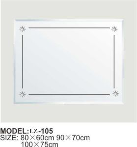 Hotel Wall-Mounted Bathroom Mirror (LZ-105) pictures & photos