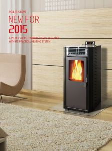 Italian Wood Pellet Stove/Burner (CR-01) pictures & photos