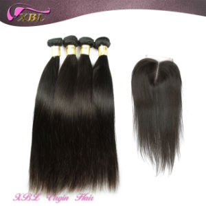 Wholesale Brazilian Virgin Hair Bundles with Lace Closure pictures & photos