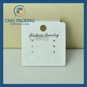 White Plastic Earring Hanging Card (CMG-077) pictures & photos