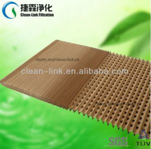 Paint Stop Folded Air Filter Paper/Concertina Filter Factory pictures & photos