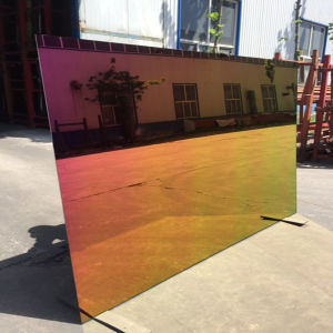 Sheet Glass Color Aluminum Mirror pictures & photos