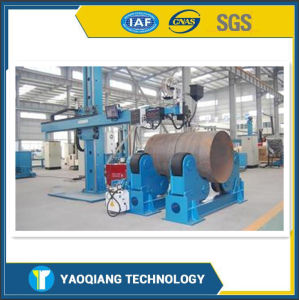 Yq CE Certificated Steel Pipe Rotary Type Automatic Welding Manipulator pictures & photos