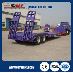 Utility Heavy Lowbed Truck Semi Trailers pictures & photos