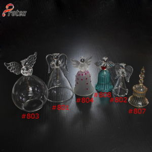 Different Designs Decorative Handing Glass Bell pictures & photos