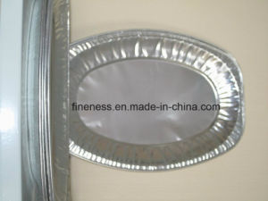 Household Aluminum Foil for Pizza Pan-Japan (Y2506) pictures & photos