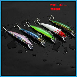 Wholesale Wh0004 Promotion High Quality Five Color Hard Lure Minnow pictures & photos