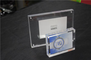 High Transparent Clear Acrylic Frameless Picture Frame, Magnetic Acrylic Photo Frames, Acrylic Block pictures & photos