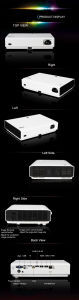 Laser DLP Mini 3D WiFi Android LED Projector pictures & photos