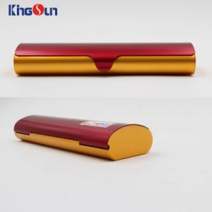 Folded Reading Glasses Aluminium Cases Metal Glasses Case Kh1026 pictures & photos