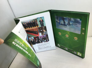 4c Custom Printing LCD Video Advertising Booklet A4, A5 Card Video Player pictures & photos