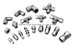 Stainless Steel Twoferrule Cross Tube Fittings pictures & photos