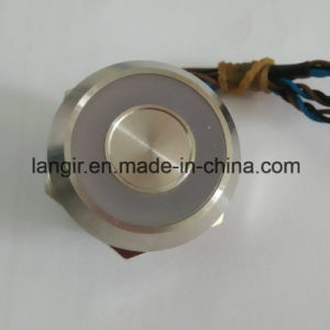 Stainless Steel 12V Green Illuminated 25mm Capacitive Switch pictures & photos