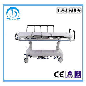 Ce ISO Approved Hydraulic Patient Transfer Trolley pictures & photos