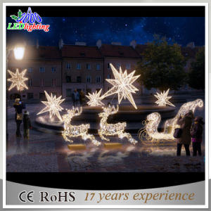 Holiday Customized Outdoor Laser Christmas Decoration LED Reindeer Light pictures & photos