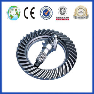 Crown Wheel and Pinion Gear Used in Auto Axle pictures & photos