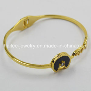 New Jewelry 2015 Gold Plated Bangles Artificial Bangles pictures & photos