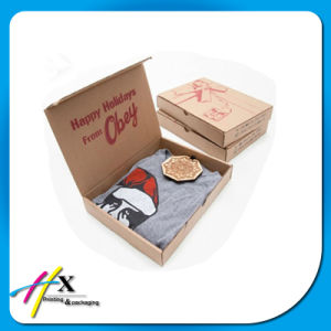 Folding Kraft Corrugated Cardboard Paper Gift Packaging Box with Logo pictures & photos