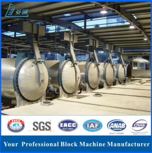 Autoclaved Aerated Concrete Block Making Machine Production Line with Curing Room