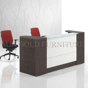Modern Furniture Beauty Salon Small White Reception Desk (SZ-RT015) pictures & photos