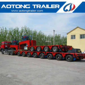 Hydraulic System 100-400 Tons Heavy Duty Modular Semi Trailer for Sale pictures & photos